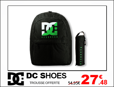 DC SHOES SAC DOS