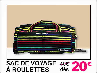SAC VOYAGE ROULETTES